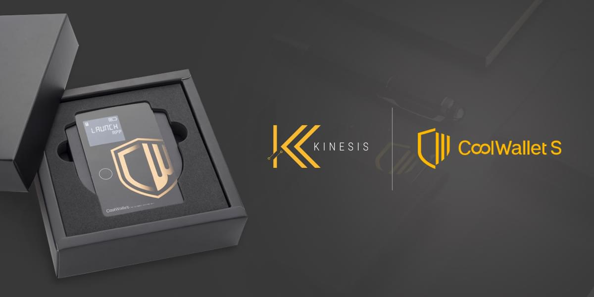 Kinesis partners with CoolBitX to deliver hardware storage solution for Kinesis currencies
