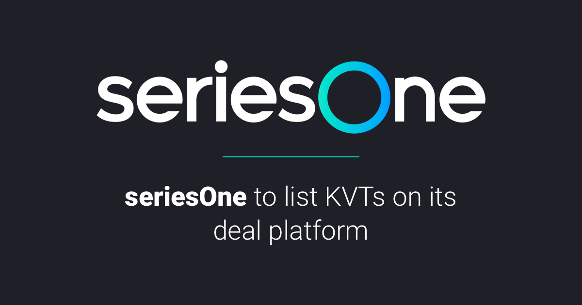 seriesOne to host Kinesis Velocity Token offer for gold- and silver-based monetary system